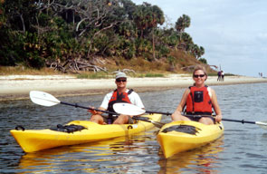 Two clients near Sea Horse Key.